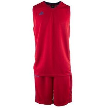Kit de Basquetbol Peak Hombre Rojo - Azul