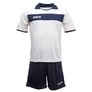Equipo - Uniforme de Futbol Mitre London Blanco/Azul Marino