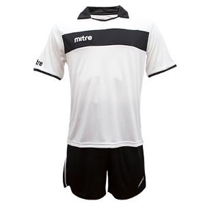 Equipo - Uniforme de Futbol Mitre London Blanco/Negro