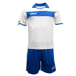 Equipo - Uniforme de Futbol Mitre London Blanco/Azul