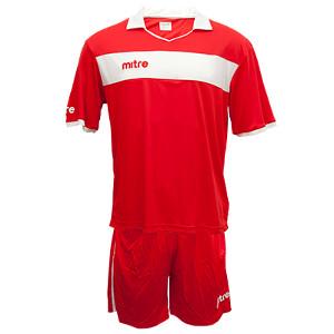 Equipo - Uniforme de Futbol Mitre London Rojo