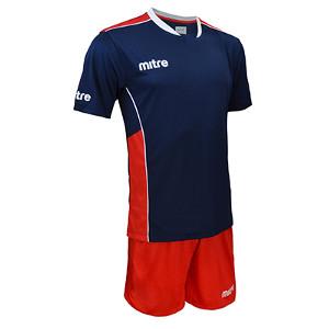 Equipo - Uniforme de Futbol Mitre Oxford Azul Marino/Rojo