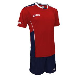 Equipo - Uniforme de Futbol Mitre Oxford Rojo/Azul Marino
