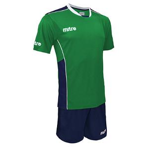 Equipo - Uniforme de Futbol Mitre Oxford Verde/Azul Marino